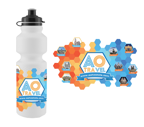 Bottle Merchandise Design
