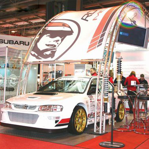 Automobile Trade Show Booth Design