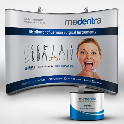 Medical Trade Show Booth Design