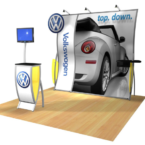 Automotive Trade Show Booth Design