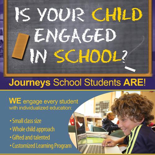 Education Newspaper Ad Design