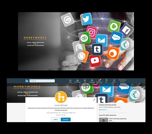Business LinkedIn Page Design
