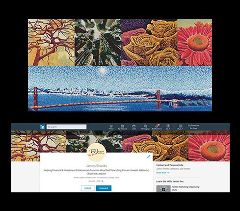 Travel LinkedIn Page Design