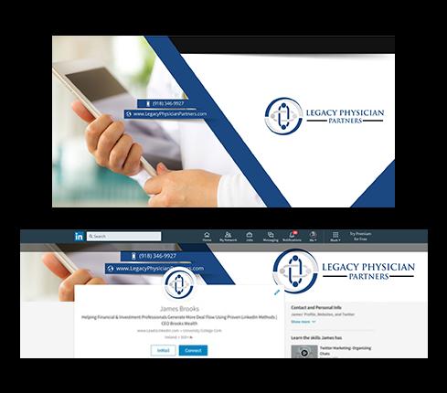 Medical LinkedIn Cover Design
