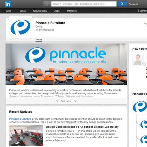 Software LinkedIn Cover Design