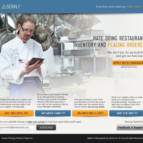 Food & Drink LinkedIn Cover Design
