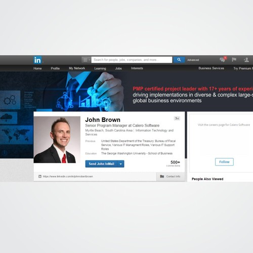 LinkedIn Profile Design