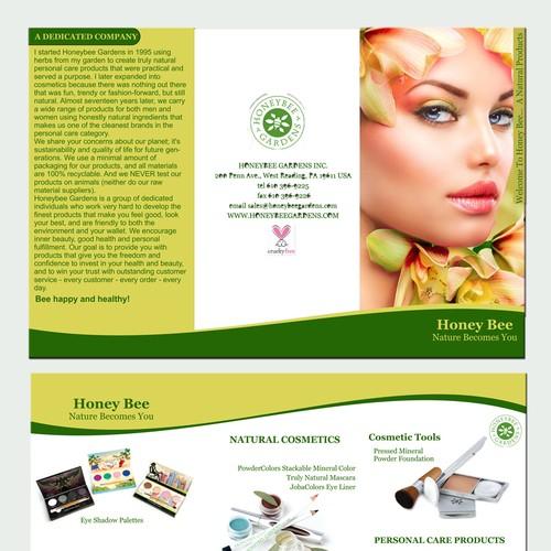Cosmetic Brochure Design