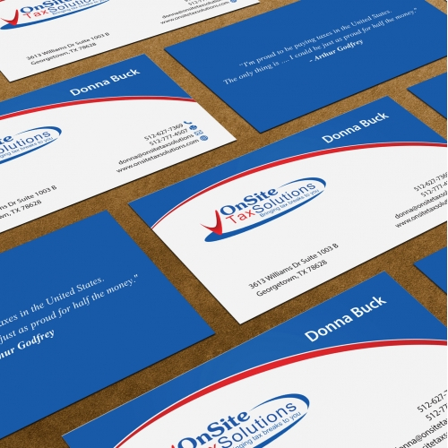 Accountants Business Card Design
