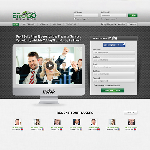 Accounting Firm Website Design