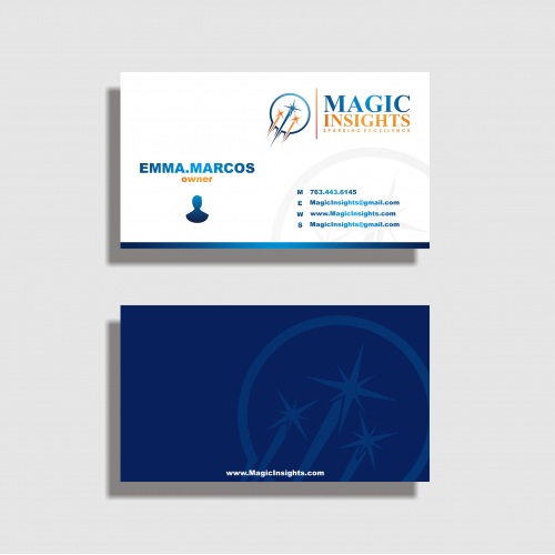 Consulting Agency Business Card Design Projects