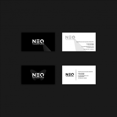 Consulting Services Business Card Design