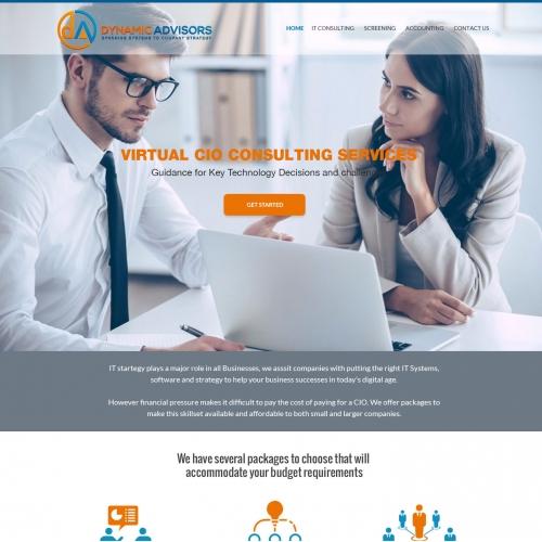 Business & Consulting Website Design
