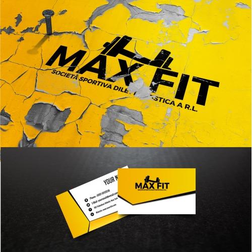 Fitness Business Card Design