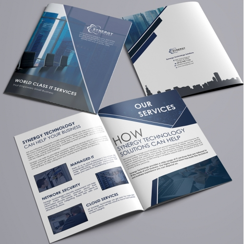 Technology Company Brochure Design Projects
