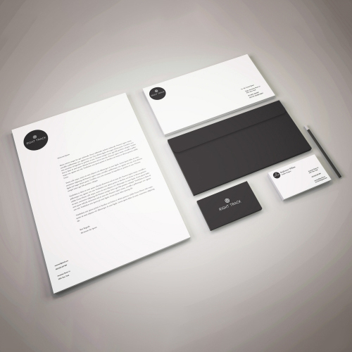 Consultant Company Stationery Design