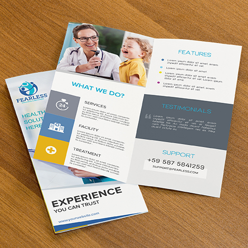 Wellness & Recovery Brochure Design Projects