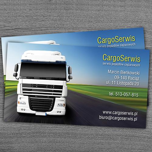Transportation Business Cards Design