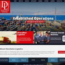 Trucking Freight Website Design