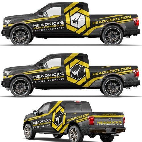 Trucking Wrap Design