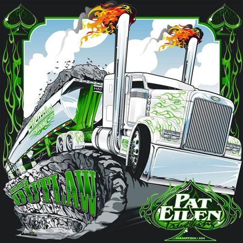 Trucking Character Design