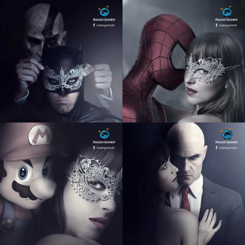 Photoshop Design for Gaming Website