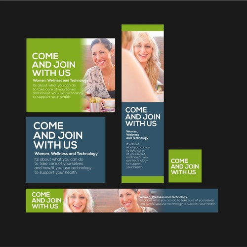 Technology Banner Ad Design