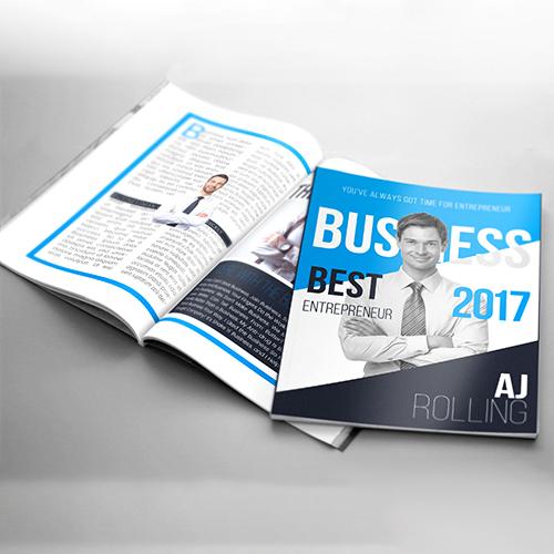Entrepreneur Magazine Design
