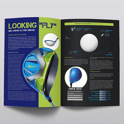 Sports Magazine Design