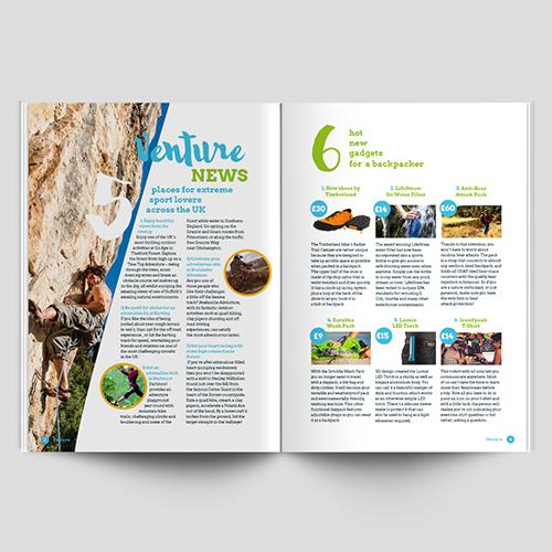 News Magazine Design
