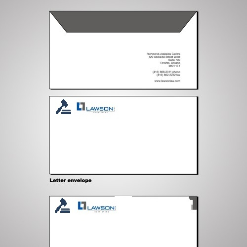 Law Firm Envelope