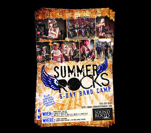 Rock Band Flyer Design