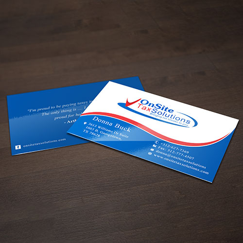 Investment Firms Business Card Design