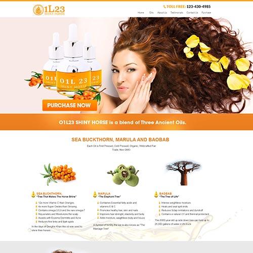 Cosmetic Websites Design