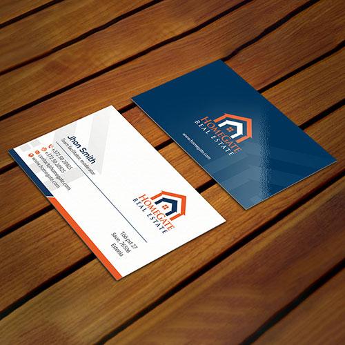 Mortgage Company Business Card Design