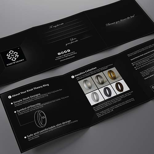 Jewellery Brochure Design