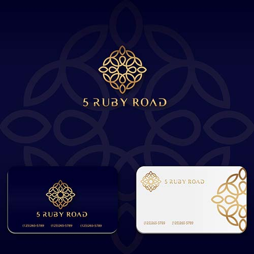Jewellery Business Card Design