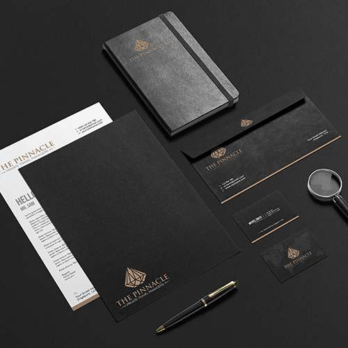 Jewelry Business Card Design