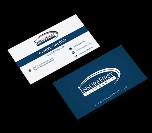 Insurance Business Card Design