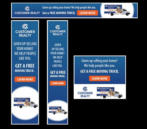Truck Banner ads Design
