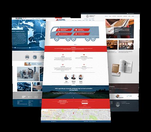 Transport Website Design