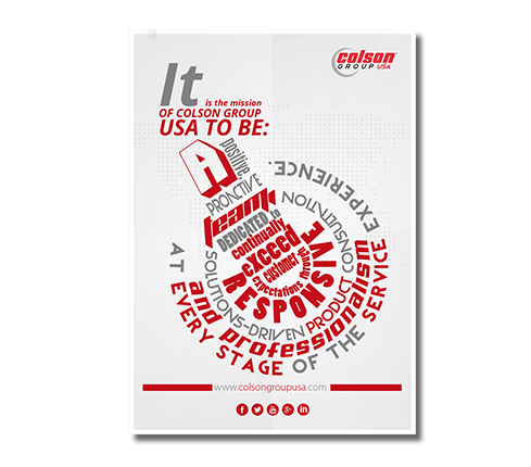Industrial poster design for Industrial design services