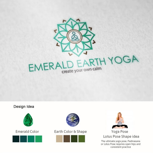 Yoga Logo Design Project