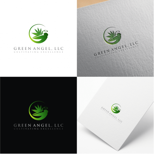 Marijuana Logo for Green Angel
