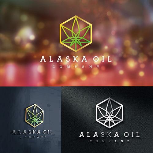 Weed Company Logo Design