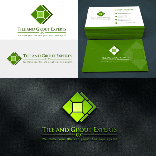 Cleaning Logo and Business Card Design
