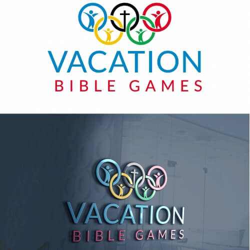 Vacation Bible Games Religious Logo