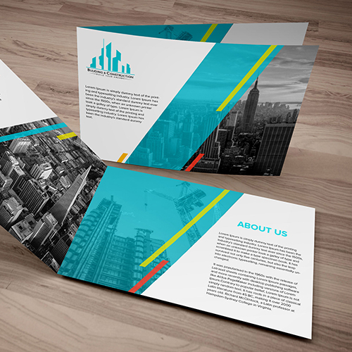 Brochure Design for Building Construction Company