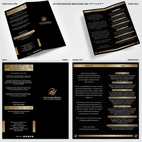 Brochure Design for Mortgage Agency