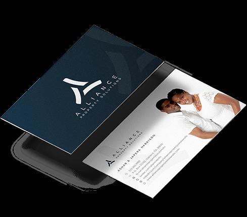 Tech Logo & Business Cards
